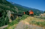 CN 2695 Coal Train Cisco Bridge